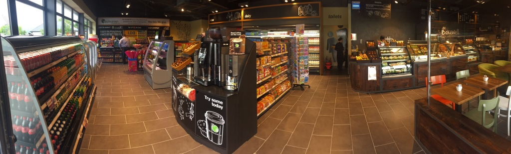 Applegreen Carlow Shop Layout